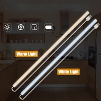 led under cabinet light hand sweep switch under cabinet led lights for kitchen 203040 cm sensor lamp wardrobe led night lights