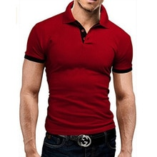 Covrlge Polo Shirt Men Summer Stritching Men's Shorts Sleeve Polo Business Clothes Luxury Men Tee Sh