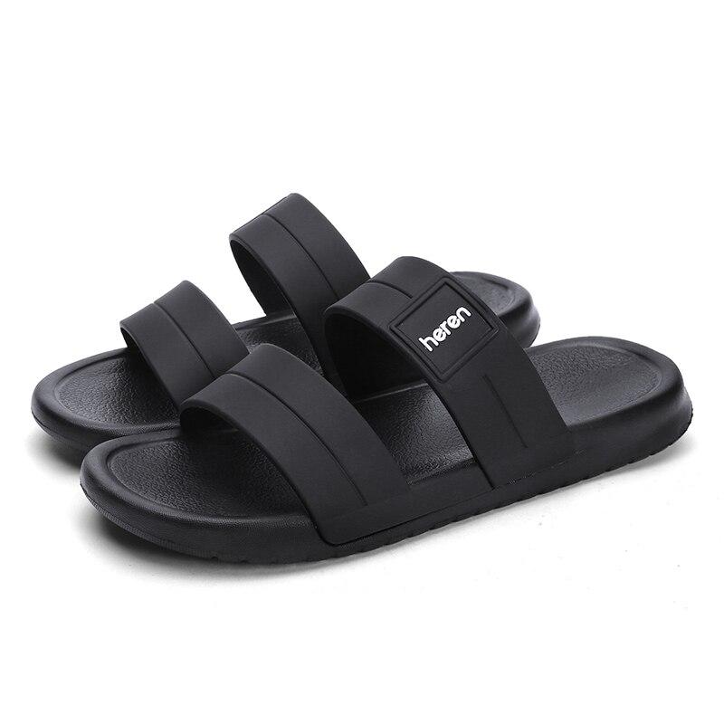 Zapatillas de casa para hombres, calzado de moda, para interior y exterior