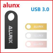 Высокоскоростной флеш-накопитель USB3.0, USB-накопитель из натурального металла, 64 ГБ, 128 ГБ, 32 ГБ, 16 ГБ, 8 ГБ, портативный флеш-накопитель