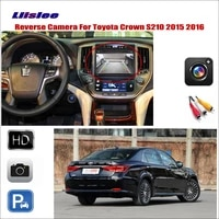 car rear view reverse camera for toyota crown s210 2015 2016 compatible with original screen monitor rca adapter connector