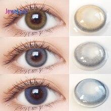 Lentes de contacto de Color Jewelens, lentes de Color para ojos, Cosméticos coloridos Con serie Sweet Dream Honey