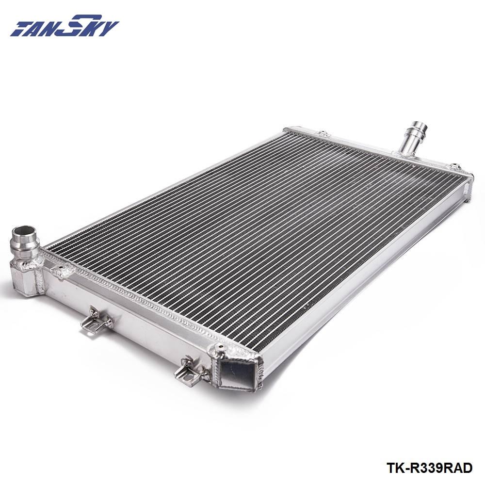 For Volkswagen VW Golf GTI MK5  06-10 MT/Manual Two Row Aluminum Cooling Radiator TK-R339RAD