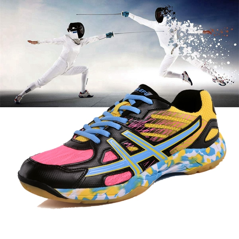 New Women Men Fencing shoes Man Brand Summer Breathable Mesh Womens Sport Shoes Outdoor Athletic Lovers Mens Sneakers