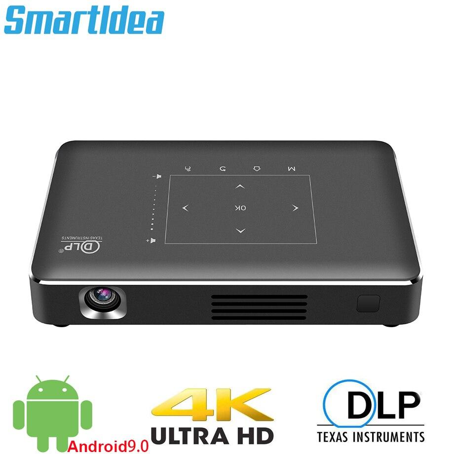 Smartldea P10 II Mini proyector 4K android 9,0 Dual 2,4G 5G wifi...
