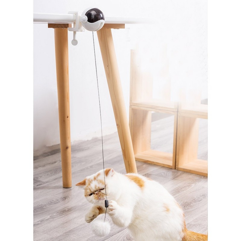 Creative Cat Pet Laser Funny Toy Automatic Cat Exercise Training Entertaining Toy Cat Rotating Ball
