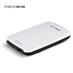 2.5''  ACASIS Original HDD External Hard Drive 1TB 500GB 320GB 250GB Portable Disk  Storage USB2.0 Have Power Switch On Sale