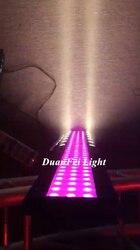 8 pces 2020 novo led barra de lavagem feixe lira rgb led wall washer pixel barra de luz 24x3w luz estágio interior