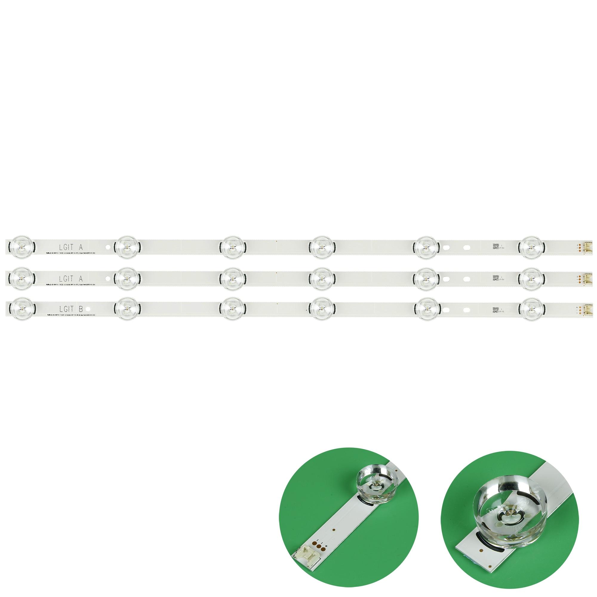 Nueva tira de LED 32LB5610-CD, CEM-3-S94V-0 1506 LED para LG LC320DUE-FGA3 32LB550B 32LB570B 32LB561B 32LB5700