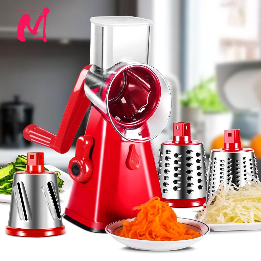 قطاعة الخضراوات اليدوية ، اكسسوارات المطبخ متعددة الوظائف ، قطاعة دائرية ، قطاعة البطاطس ، ادوات المطبخ