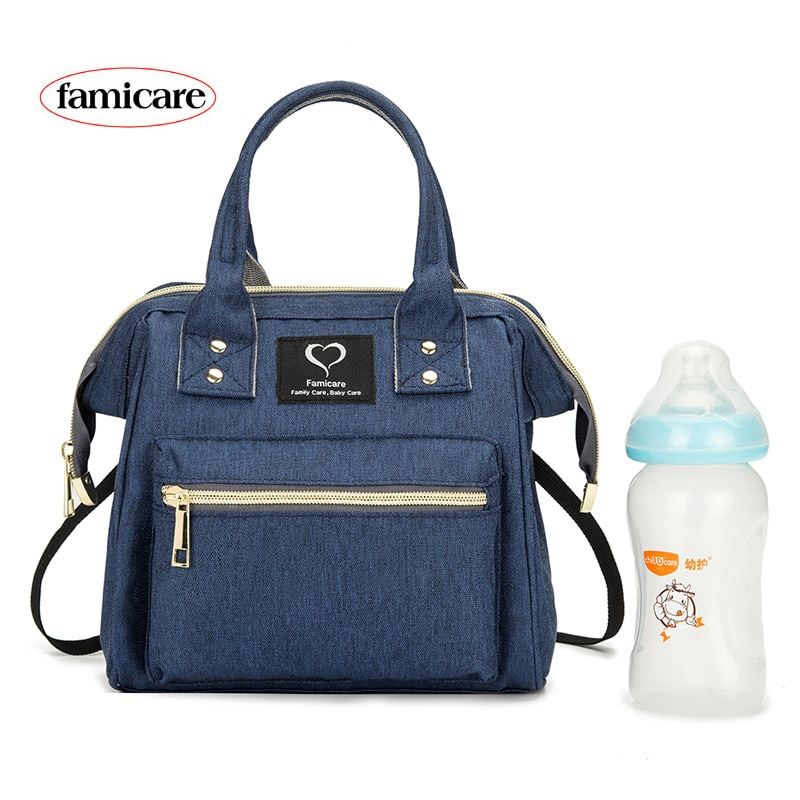 Mini bolso de pañales para mamás, bolsos de bebé para madres, familia, extraíble, correa de hombro, bolsos cruzados, mochila de maternidad para lactancia