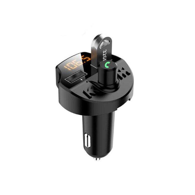Bluetooth автомобильный комплект беспроводной fm-передатчик 2 USB зарядное устройство Радио адаптер mp3-плеер