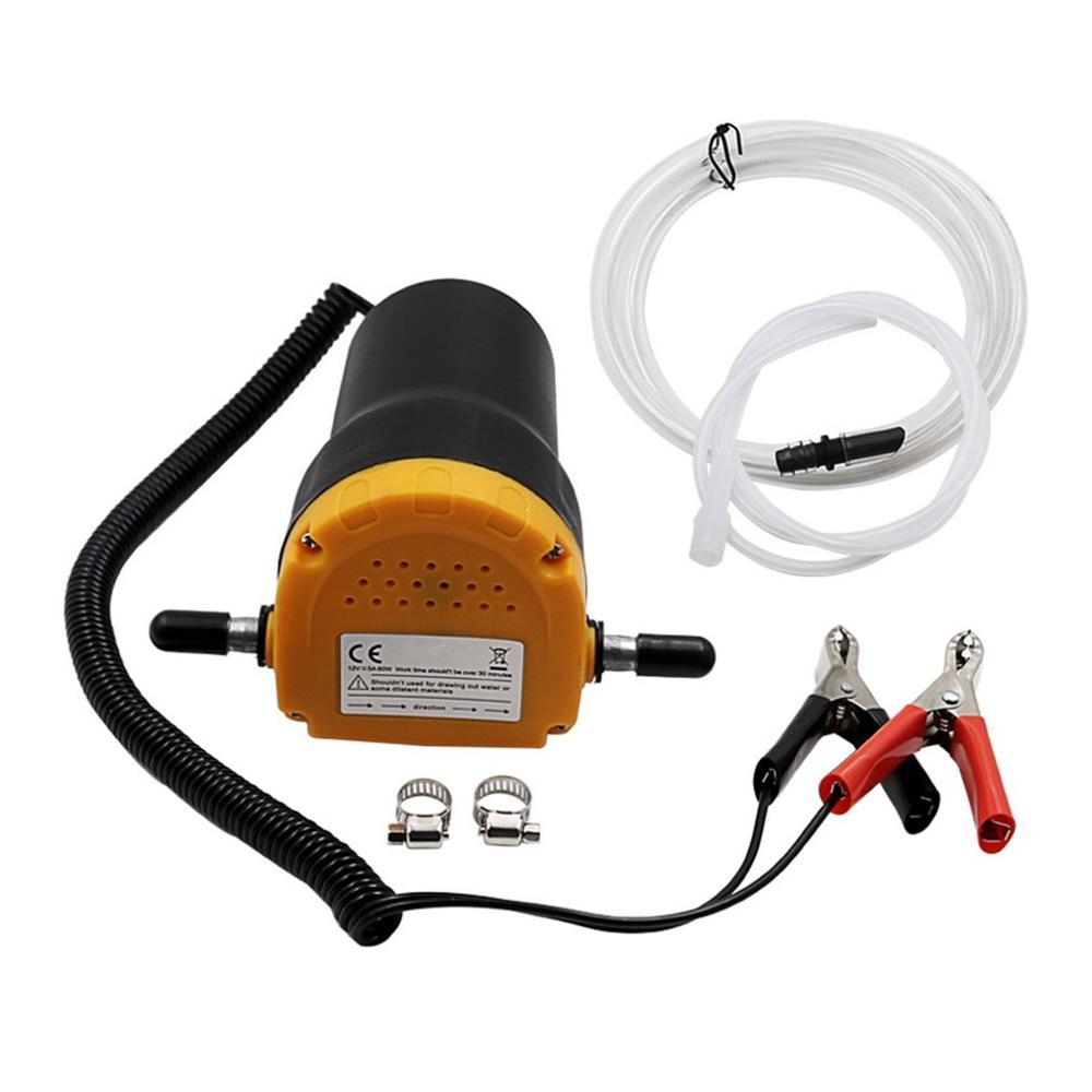 12V/24V de combustible de aceite de motor Diesel Extractor eléctrico auto-succión transferencia Cambio de buscar succión para coche