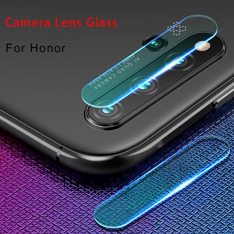 Cristal de la cámara para Honor 20 Pro 20Lite 20S enfoque trasera Protector de pantalla de vidrio templado para Huawei Honor 10 Lite 8 9 Pro 10i 20i