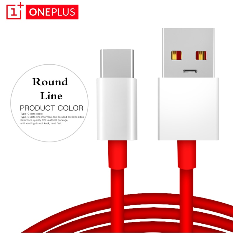 6A Flash Charger Cable for Oneplus Nord Warp Charge Type-C Dash Cable for One Plus 8 7 Pro 7t 7 T 6t