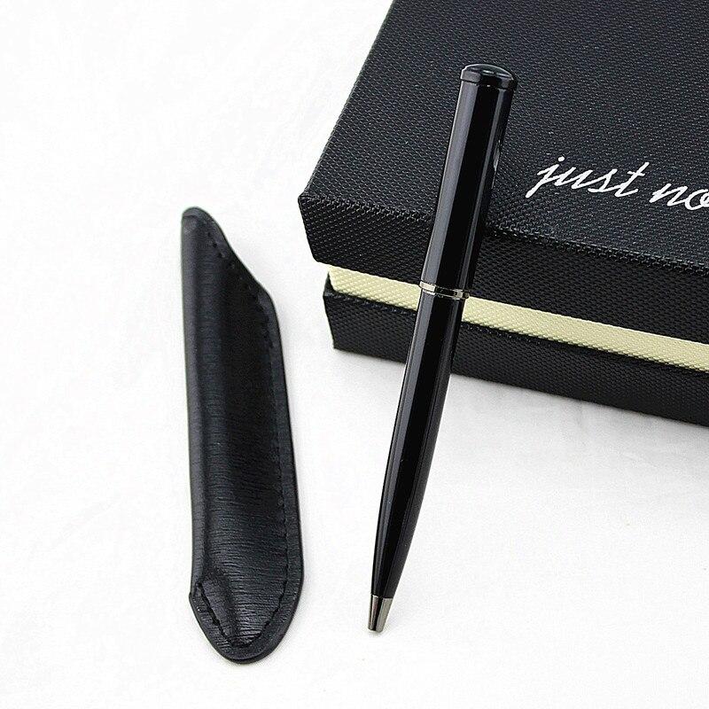 Мини-металлическая прочная шариковая ручка, вращающаяся карманная ручка, портативная шариковая ручка, маленькая масляная ручка, изысканны...