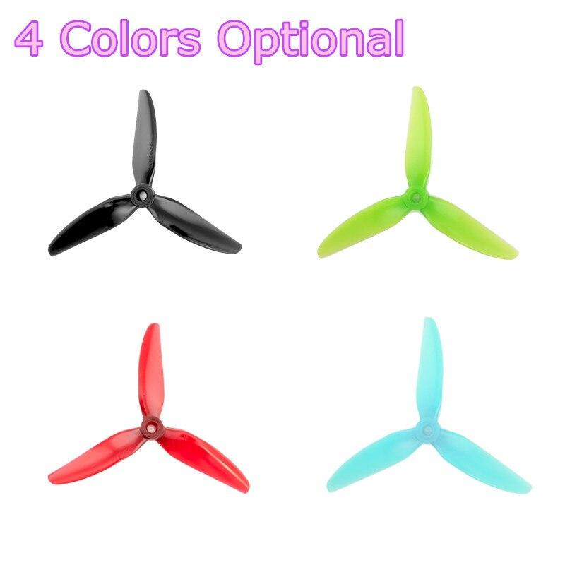 2 pares HQProp Durable 5050 5X5 5 pulgadas hélice de 3 cuchillas para RC Drone FPV Racing piezas de accesorios para cuadricóptero DIY