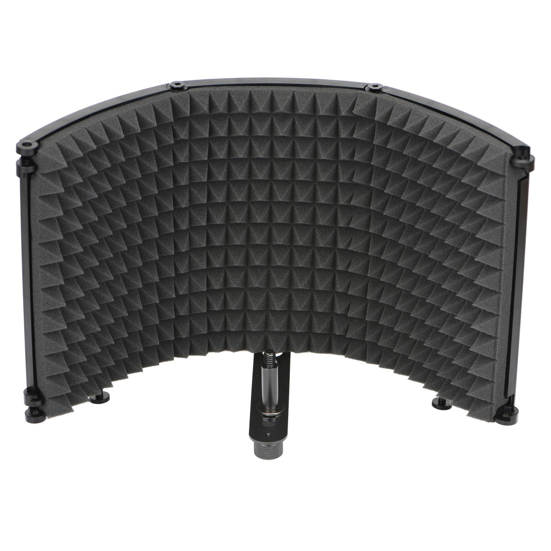 Freeboss – écran pare-vent pliable à Angle réglable pour Studio de radiodiffusion, réduction du bruit, Microphone insonorisant