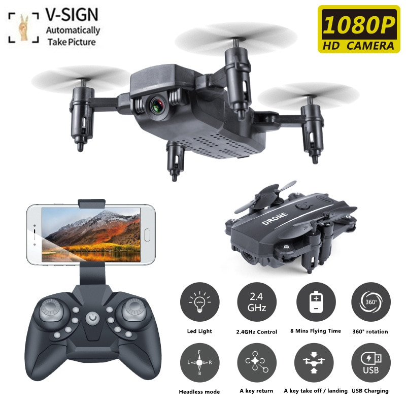 m9-four-axis-mini-folding-uav-fixed-height-gesture-camera-wifi-hd-aerial-remote-control-aircraft-drones-with-camera-hd-4k-drone