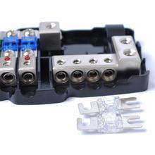 Universal Car RV ANL Fuse Holder Distribution Block Audio System Protection
