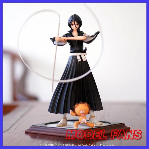 MODEL FANS IN-STOCK FOC BLEACH Kuchiki Rukia GK resin figure for Collection