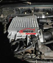 Aluminum Intercooler Upgrade For Nissan Patrol Safari GU Y61 ZD30 3.0L TD Turbo Diesel 1997-2007 Top Mount Inter cooler