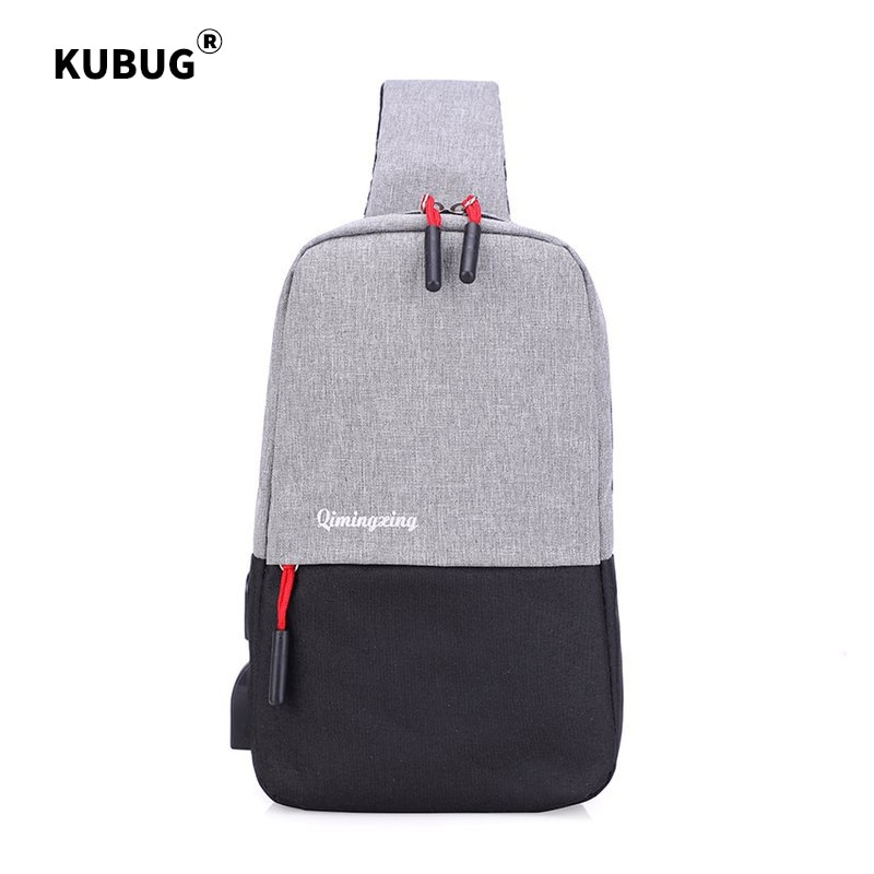 Bags Chest Pack Hot Selling New Style Casual Fashion Simple Contrasting Color Panel Shoulder Cross-body Uni Backpack