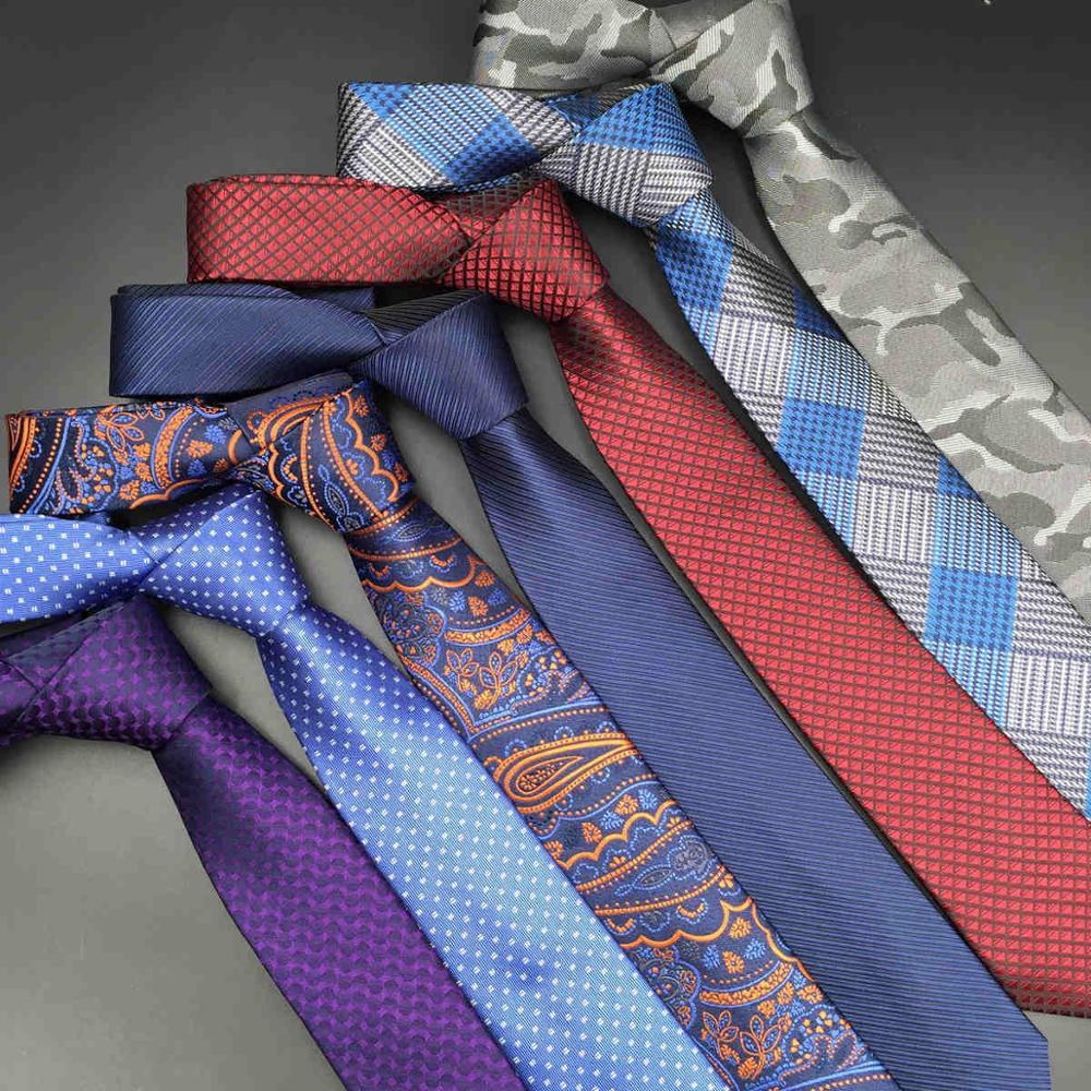 Laço de pescoço fino floral paisley multicolorido casamento gravatas de seda para homem clássico magro noivo