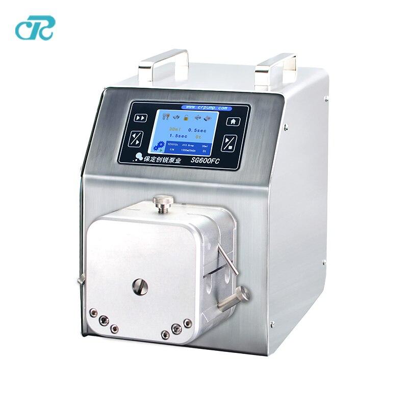 chuangrui nice precision bottle filling peristaltic pump for liquid dispensing machine enlarge