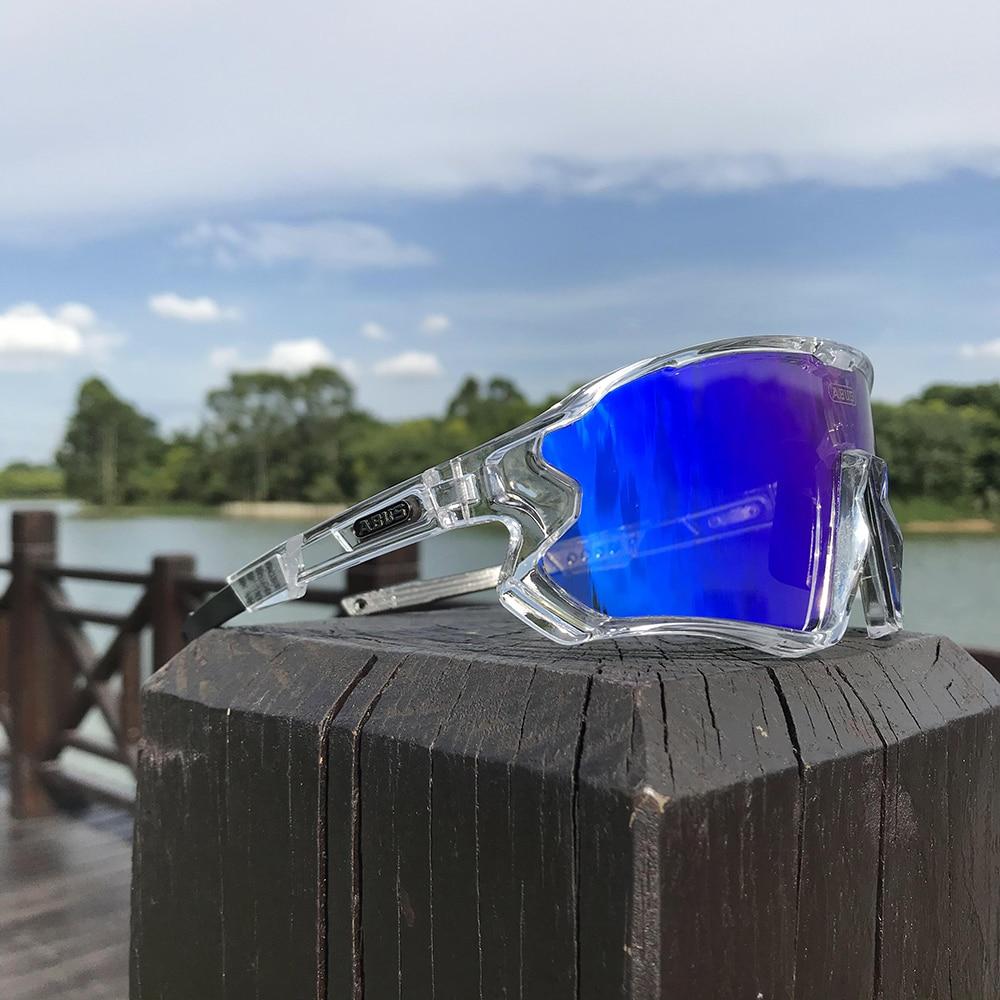 ABUS-Gafas de sol fotocromáticas para Ciclismo para hombre y mujer, 6 lentes