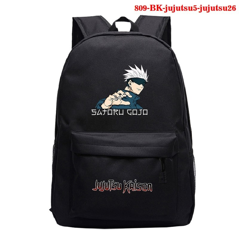 Backpack Men Jujutsu Kaisen Backpacks Children Anime Cartoon School Bag Bookbag Men Women Travel Bags Mochila Daily Rucksack