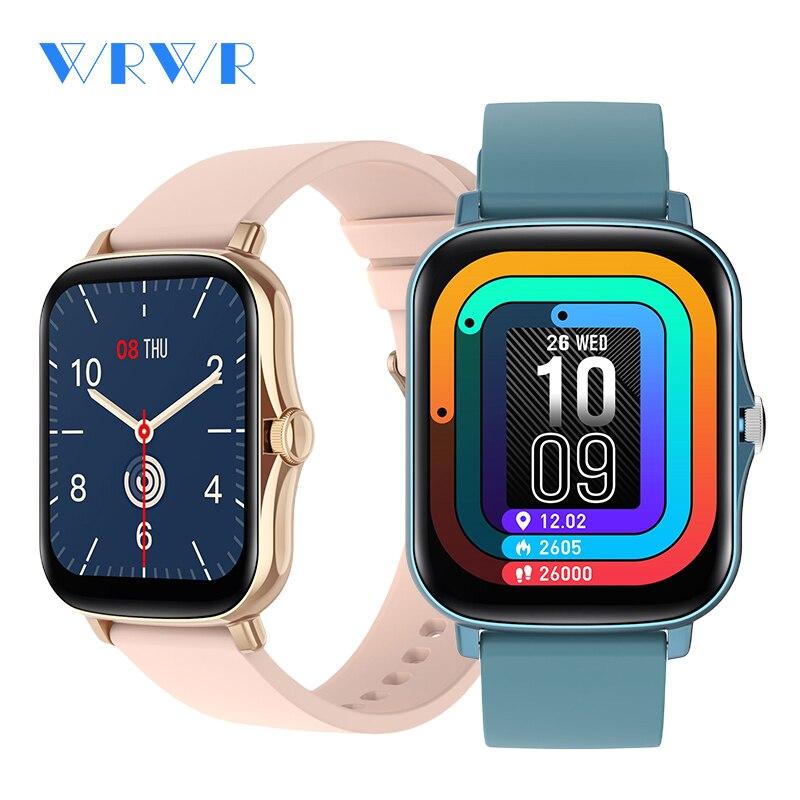 WRWR 2021 New Smart Watch Waterproof Fitness Bracelet Men Women Smartwatch Heart Rate Monitor GTS 2