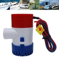 1100gph 12v electric marine submersible water pump for boat rv campers durable water pump boat accessories free shipping