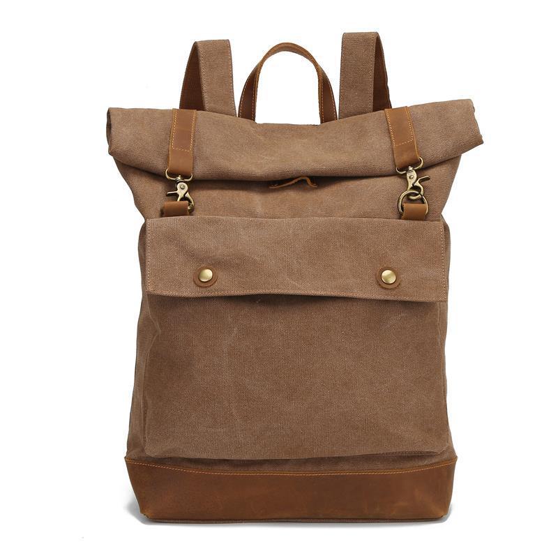 حقائب الظهر موضة Mochila قماش بتصميم قديم الظهر حقائب السفر للرجال سعة كبيرة حقائب الظهر حقيبة أنيقة دروبشيبينغ