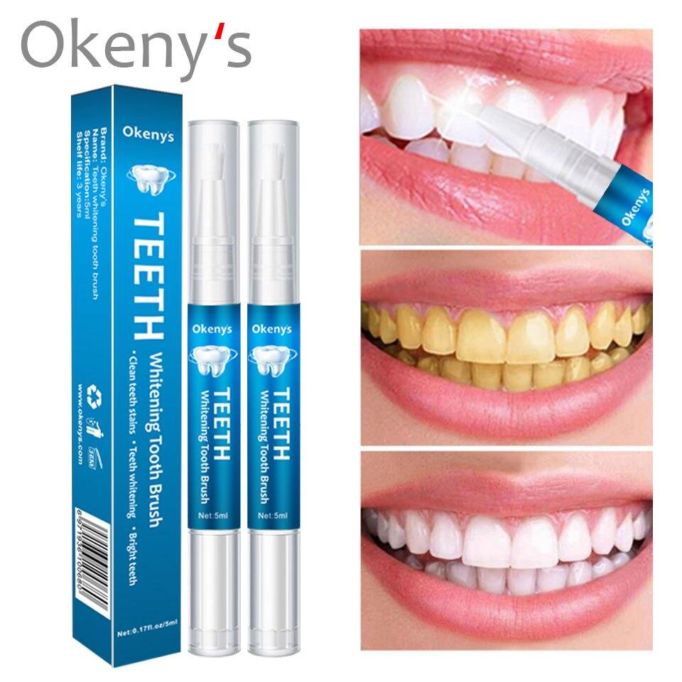 1Pc Effective Teeth Whitening Pen Tooth Gel Whitener Bleach Stain Eraser Sexy Celebrity Smile Teeth Care