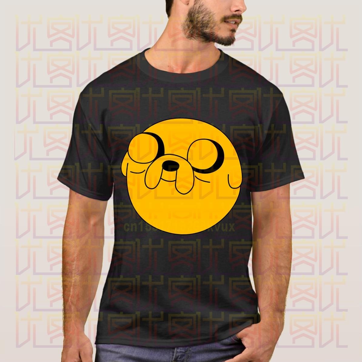 ¡NOVEDAD DE VERANO 2020! Ropa informal de algodón con logotipo de Jake The Dog de 100%, camiseta de regalo para hombre, camisetas S-4XL con estampado de hombres y mujeres