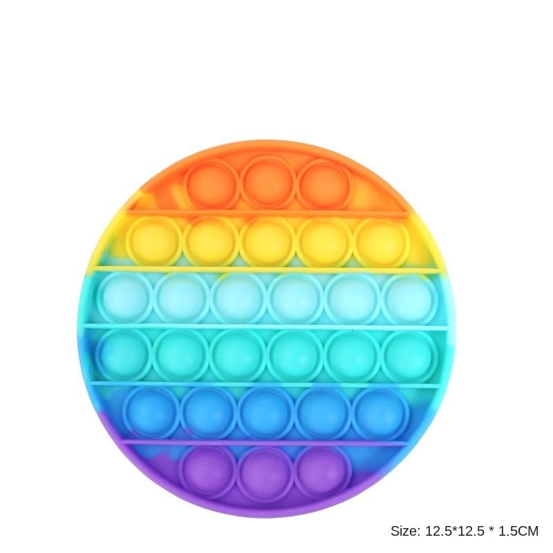 GAMPORL Funny Push Bubble Fidget Antistress Toys Autism Needs Squishy Stress Reliever Toys Adult Kids Popit Fidget Sensory Toys enlarge