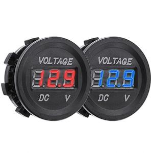 12V LED Digital Display Voltmeter Mini DC Voltage Gauge Meter For Car Motorcycle LED Panel Digital Volt Voltage