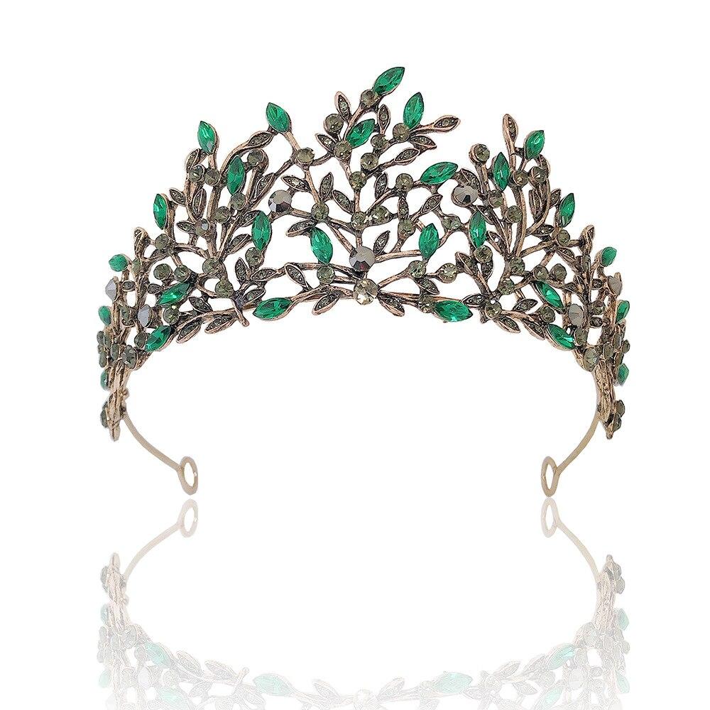 Tiara barroca Vintage para el cabello, accesorios para el cabello de boda,...