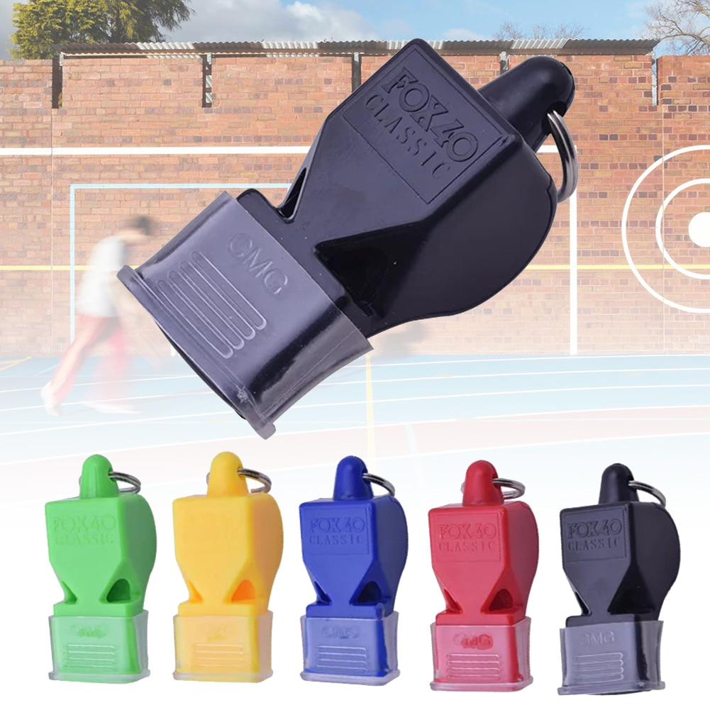 Sports Like Big Sound Whistle Seedless Plastic Whistle Professional Soccer Basketball Referee Whistle outdoor Sport Color Random plastic crimewave sound plastic crimewave sound no wonderland