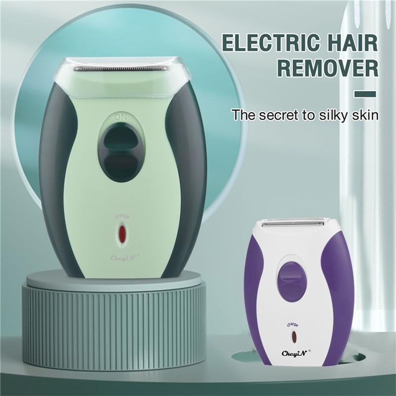 CkeyiN Women Epilator Electric Hair Removal Painless Lady Body Razor Bikini Trimmer Rechargeable Shaver Legs Depilation