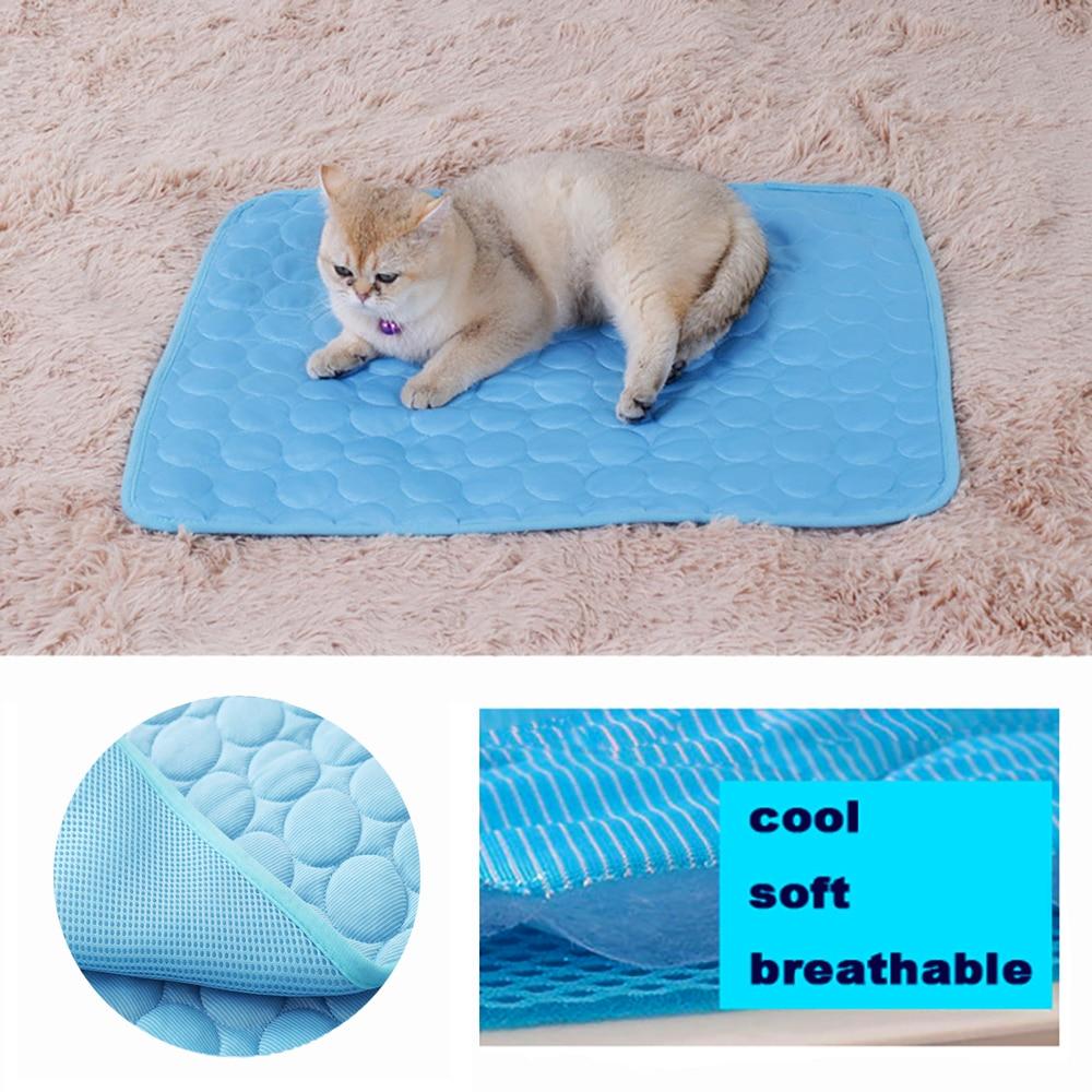 Colchonetas refrigerantes de verano para mascotas, manta de hielo, cama para perro, sofá para perros, gatos, sofá, viaje portátil, Camping, Yoga, dormir, accesorios para mascotas