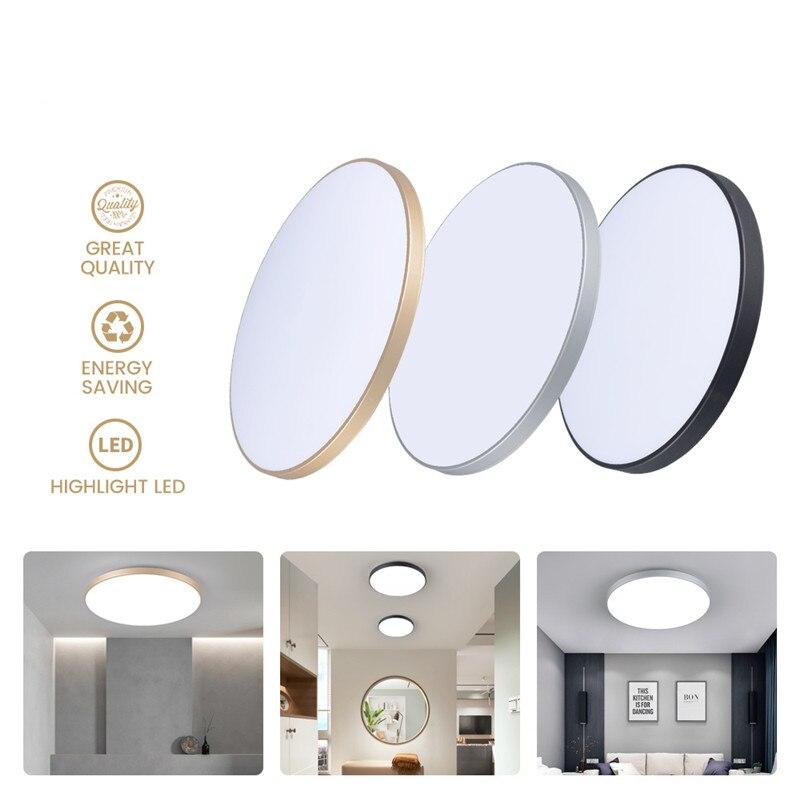 LED فائقة Lhin ثلاثة واقية مصباح السقف الأبيض ضوء 32 واط-80 واط نوم المعيشة الداخلية الإضاءة مطعم الممر دراسة السرير