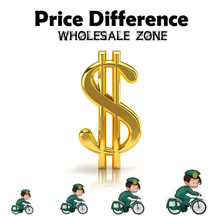 Wholesale Zone- Special link expedited shipping cost Or Price Difference 0.01