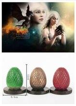 Game Of Thrones Cosplay oeuf accessoire paraffine Dragon oeufs unisexe cadeau accessoires Halloween Fan Collection livraison directe