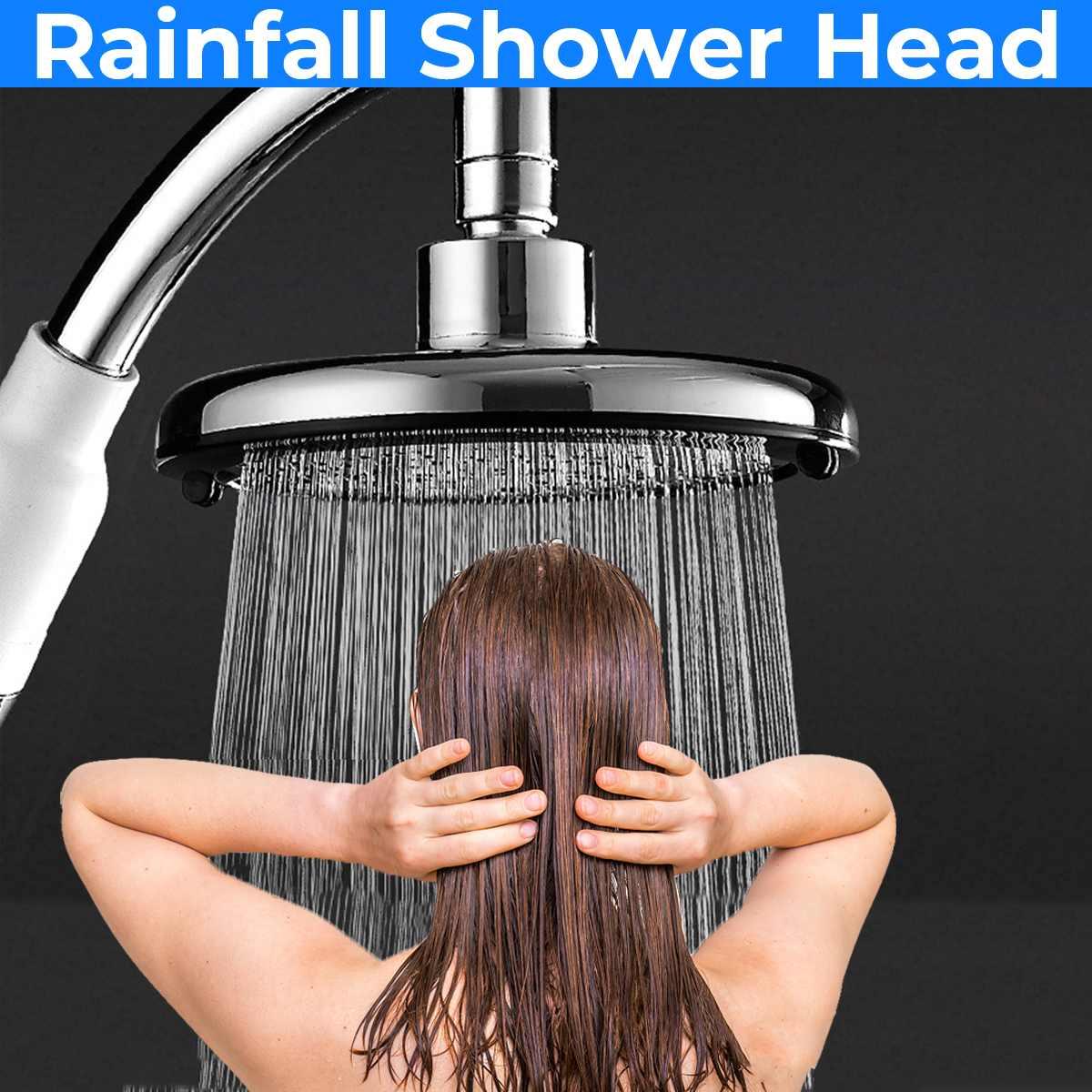 Bath Large Hand Shower Head Power Nozzle Hydromassage Pressure Boost Water Saving Big Rain Showerhea