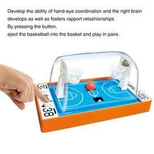 Bureau éducation précoce famille fête doigt basket jouet 2 joueurs Mini Portable jeu de tir Parent enfant jeu interactif