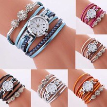 Women Watches Bracelet Ladies Watch With Rhinestones Clock Womens Vintage Fashion Dress Wristwatch R
