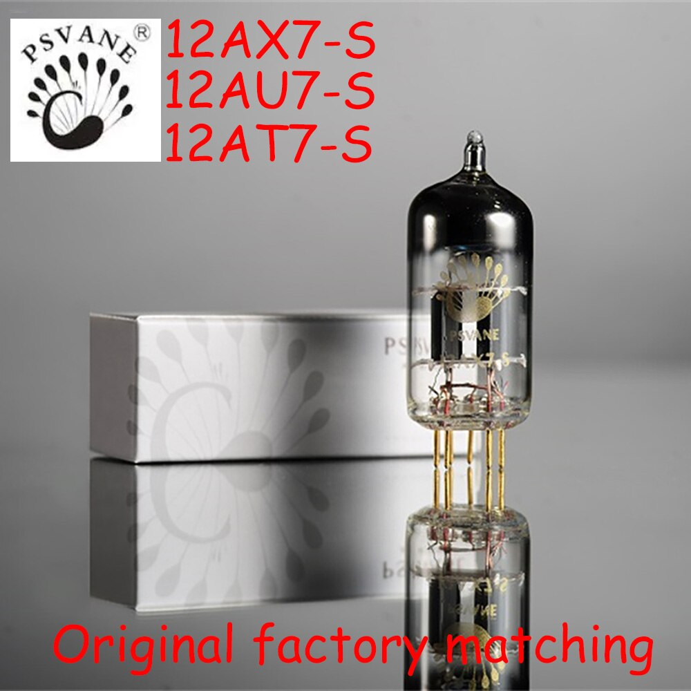 Sunbuck PSVANE Art Series 12AX7S 12AU7S 12AT7S أنبوب تفريغ مناسب لمكبر الصوت المسبق لأنبوب الصوت hifi القديم لاستبدال 12AX7