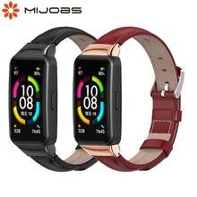 Cinturino in vera pelle per Huawei Honor Band 6 Smart Watch bracciale per Honor 6 cinturino di ricambio per cinturino per Huawei Band 6